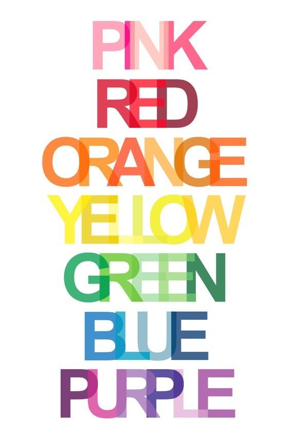 The rainbow. #coloreveryday