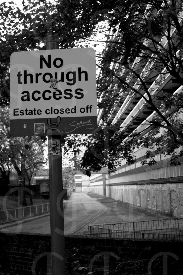 Heygate Estate, 2013 #London
