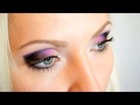 Вечерний макияж для глаз (видео уроки онлайн)