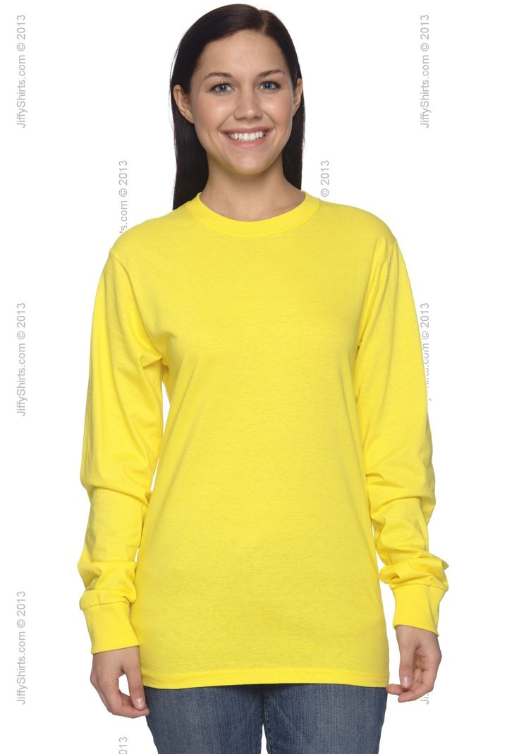 Fruit of the Loom 4930 Heavy Cotton Long Sleeve Adult T-Shirt from T-Shirts Long Sleeve - JiffyShirts.com