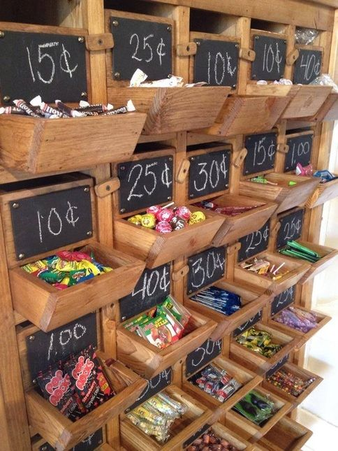 opening a penny candy shop - great summertime summerspace pop-idea
