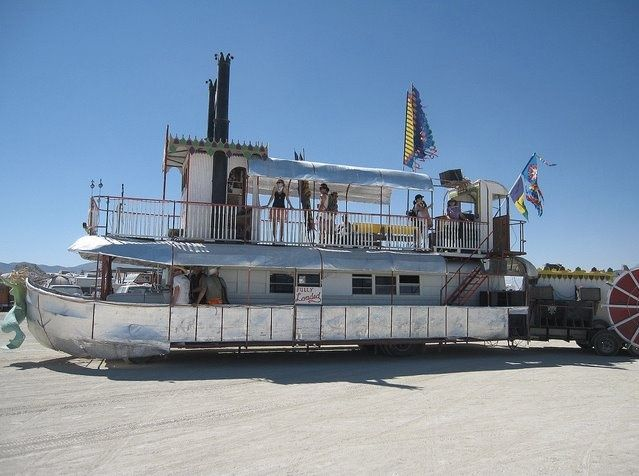 25 Eye Popping RVs from the Burning Man Festival Over the Years