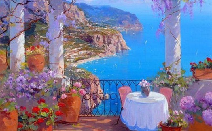 Evocative of the Mediterranean.