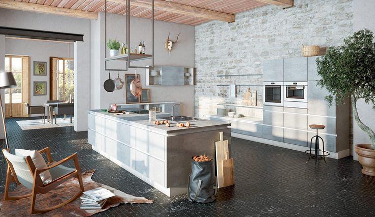 Die 8 besten Bilder zu Küchen auf Pinterest - küchen aus edelstahl