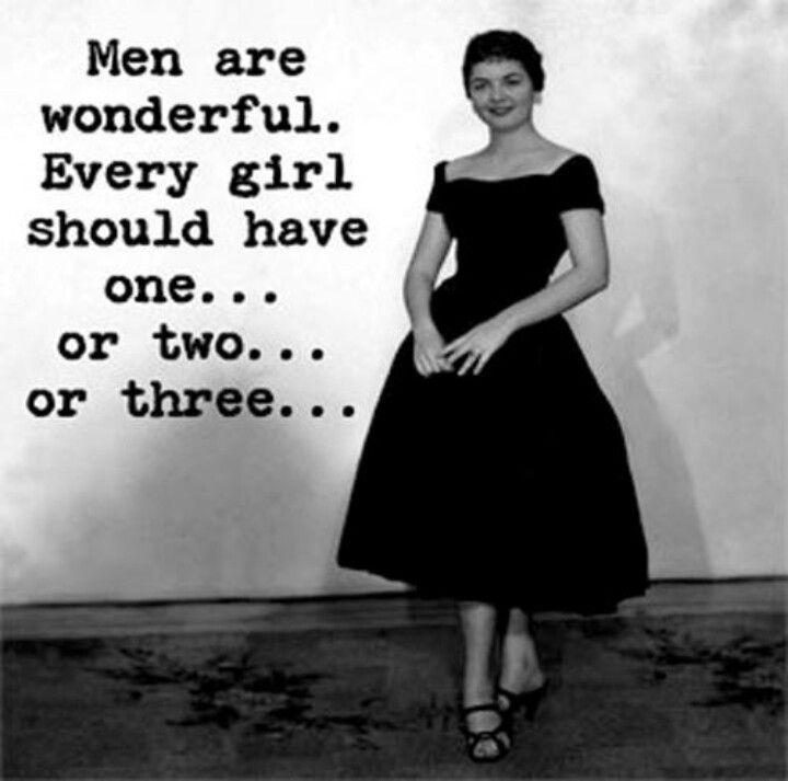 Men are wonderful