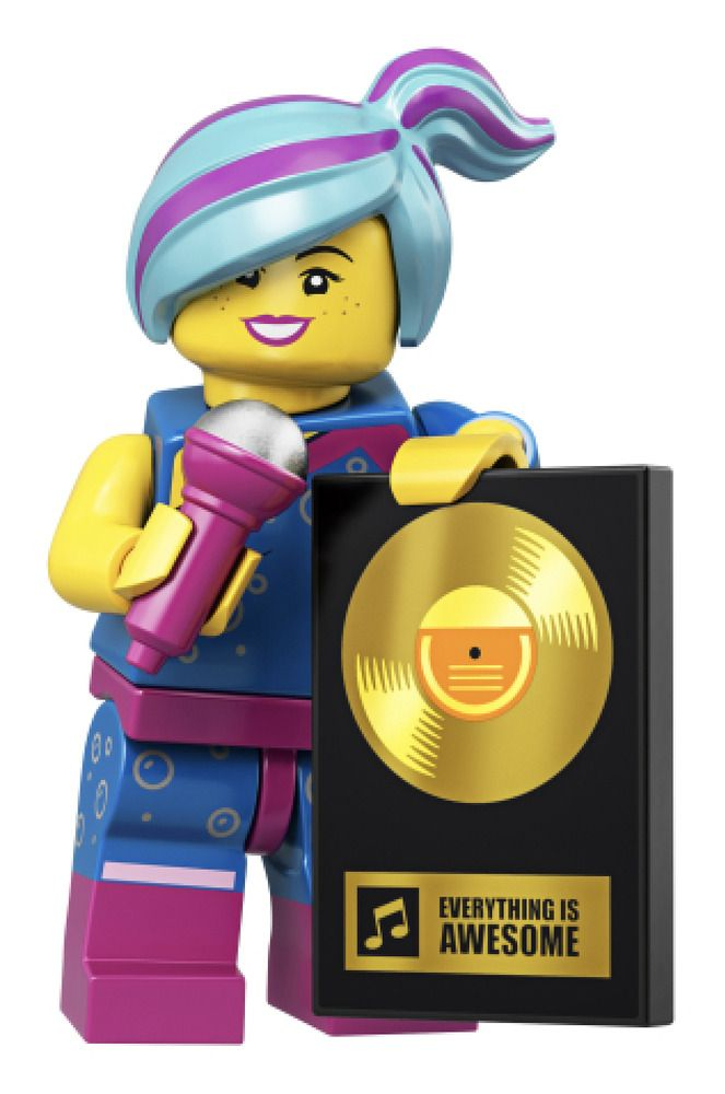 The LEGO Movie 2 Minifigures Series 71023 FLASHBACK LUCY WYLDSTYLE minifigure
