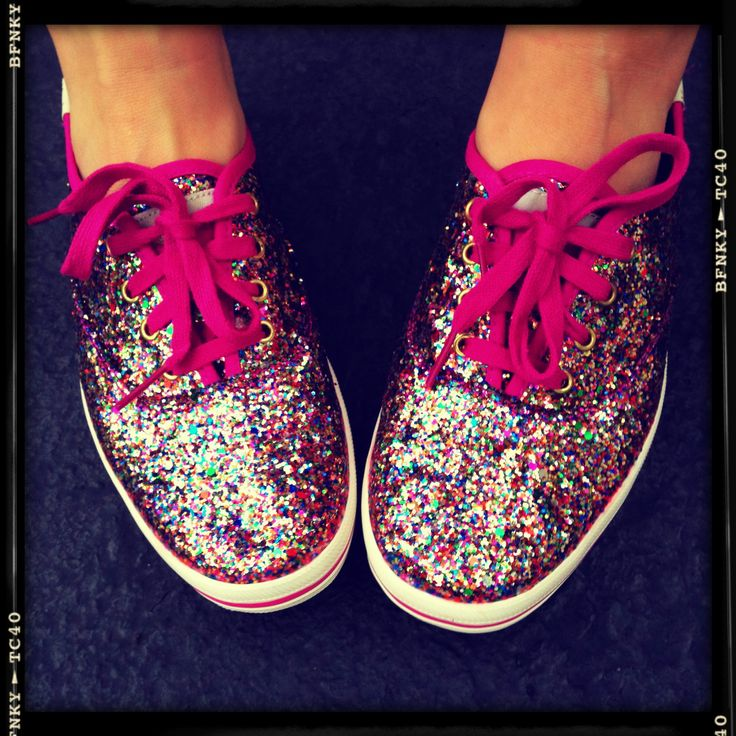 keds rainbow glitter shoes