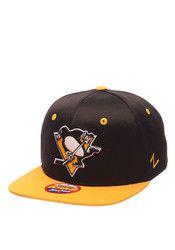 Zephyr Pitt Penguins Red Bambino Snapback Hat