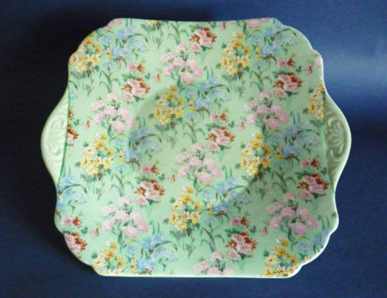 chintz china - have one of these plates