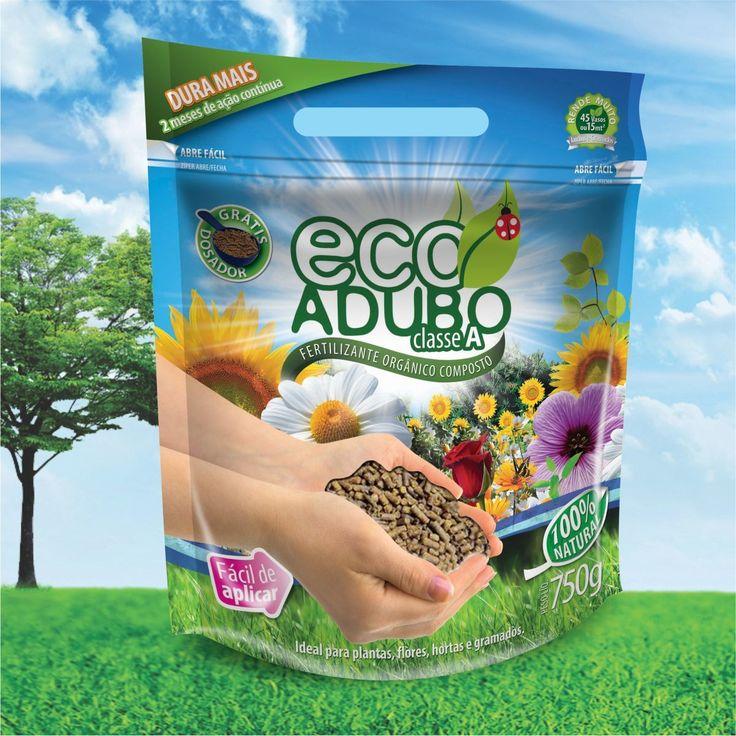 Você conhece o incrível EcoAdubo?  Orgânico. Natural. Livre de bactérias. E rico em nutrientes!  O EcoAdubo é um poderoso fertilizante orgânico, ideal para todos os tipos de plantas. Pode ser usado nas flores mais delicadas como orquídeas, rosas e violetas. Plantas ornamentais, como samambaias e palmeiras, ficam vistosas e o gramado brilhante com verde mais intenso. É recomendado no cultivo de vegetais orgânicos, livre de agrotóxicos.  Ecologicamente correto. O uso de EcoAdubo aumenta a…