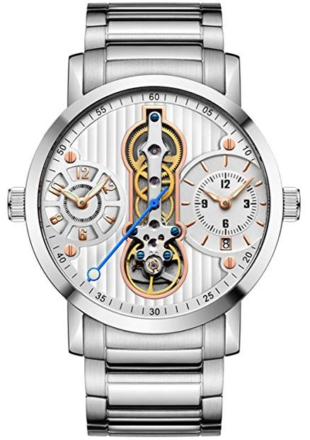b592614ae4c Tourbillon new 2018 Automatic Skeleton sport Men Watches Waterproof diver Mechanical  Watches Review