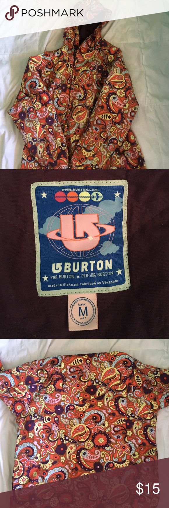BURTON KIDS snow jacket!!! no damage!! great condition!! super comfy. Childs medium Burton Jackets & Coats Puffers