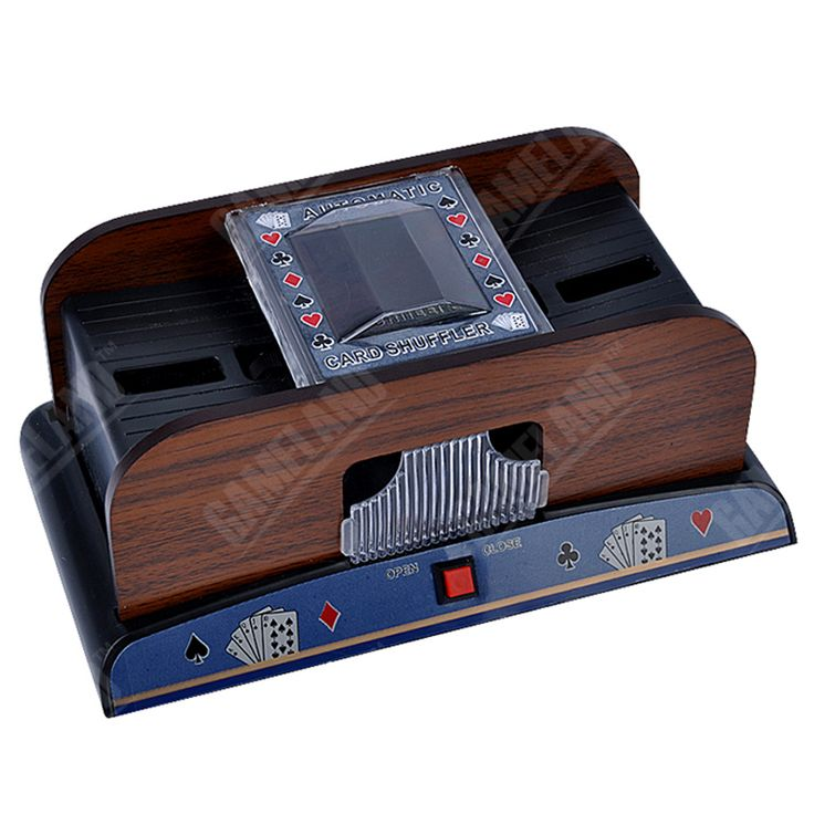 ==> [Free Shipping] Buy Best Wooden Automatic Card Shuffer Machine 1-2 Decks of Cards Shuffling Plastic Playing Cards Shuffler Robot - hands free Online with LOWEST Price | 32814517567