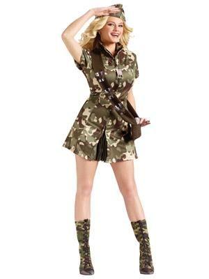 Сексуальные армейские костюмы для девушек