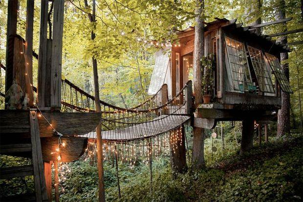 Está disponível no Airbnb, uma casa na árvore de tirar o fôlego. Rodeada pela natureza, ela fica dentro de um parque em Atlanta e você pode se hospedar!