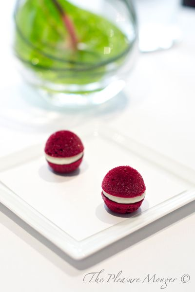 The Fat Duck, Aerated Beetroot with Horseradish Cream