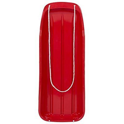"""48"""" Kids Snow Sled Toboggan Outdoor W/ Rope Sport- Variety Of Colors Available"""