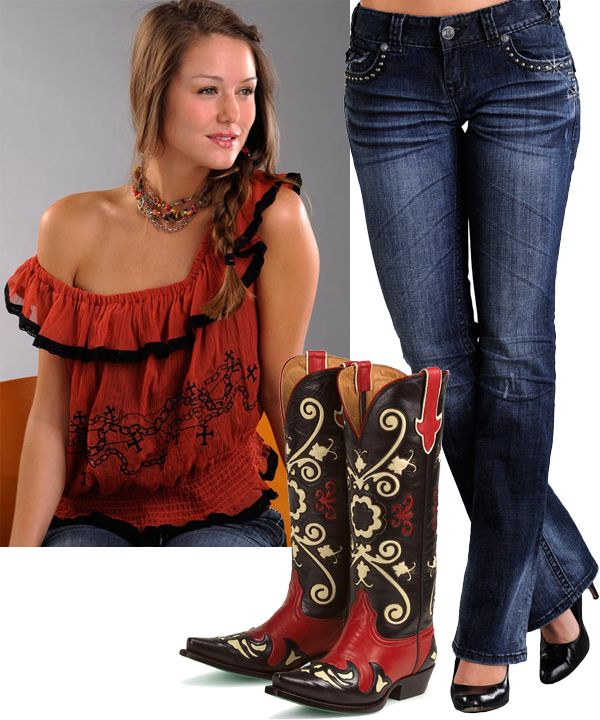8 best images about Womens Cowboy Boots on Pinterest