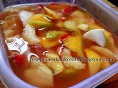 Resep Asinan Buah Bogor | Resep Masakan Indonesia (Indonesian Dessert Recipe)