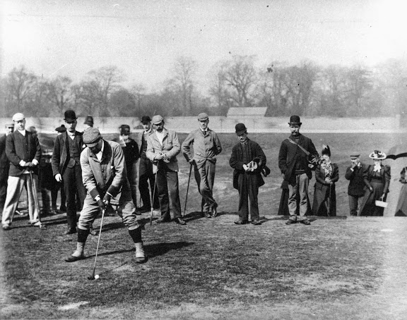 Golfing on Blackheath 1910