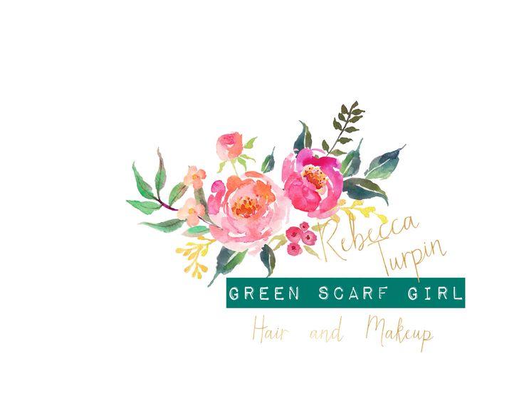 Our beautiful new logo www.greenscarfgirl.com.au