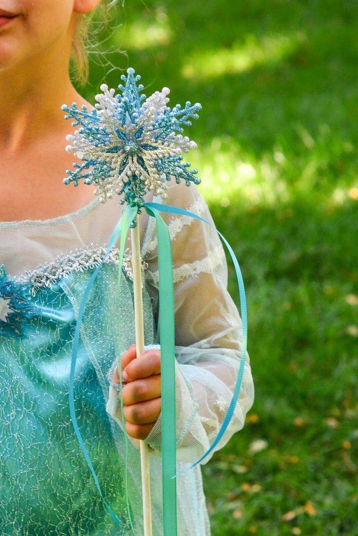 Aesthetic Nest: Craft: DIY Frozen Elsa Wand (Tutorial)