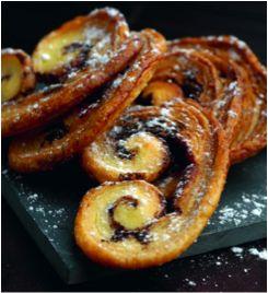 Les bons palmiers au chocolat. Par Relaxnews. #Intermarché #Cooking #Recette #Cuisine #Food #Goûter