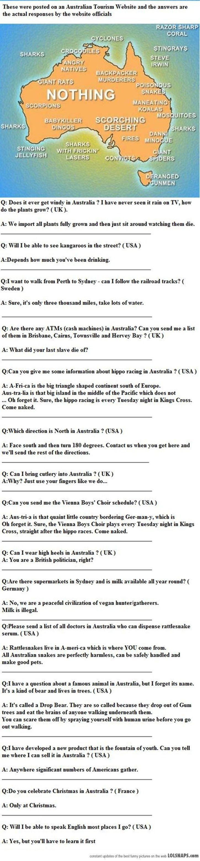 Important Tourist Information About Australia