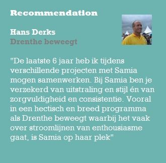 Recommendation Hans Derks