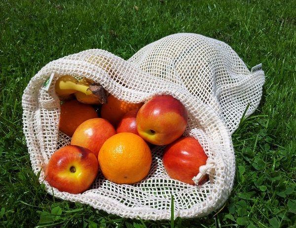 Obst- und Gemüsenetz statt Plastikbeutel