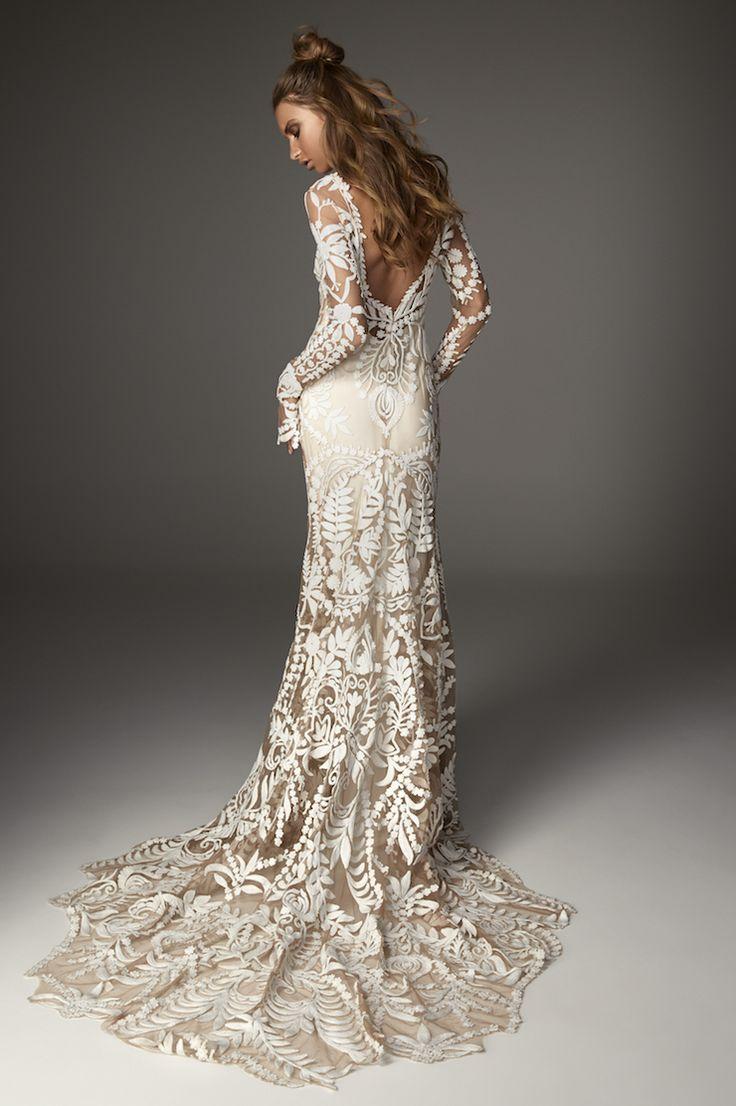 Rue De Seine long sleeve wedding dress - 2017 Love Spell Collection