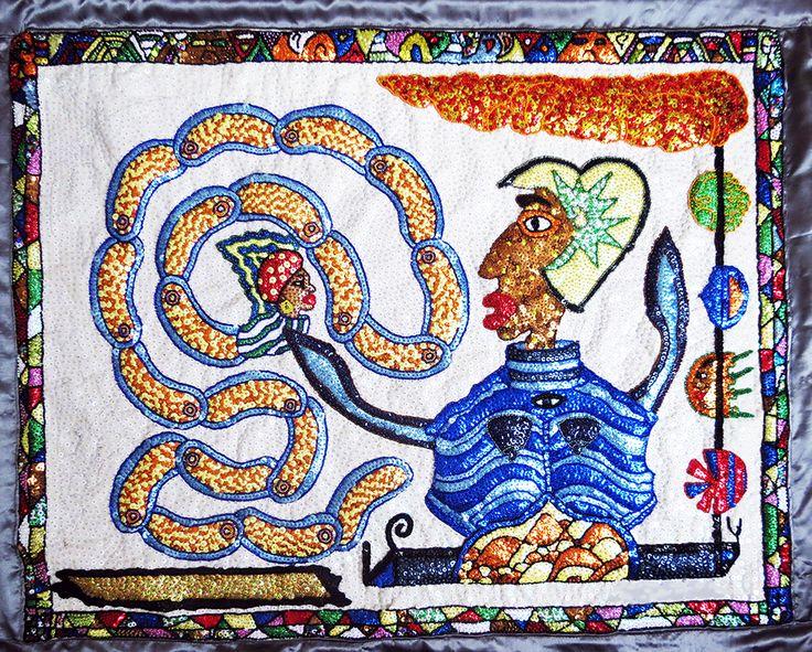 William Adjété Wilson - International Folk Art Alliance