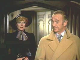 Maggie Smith and David Niven in Murder by Death