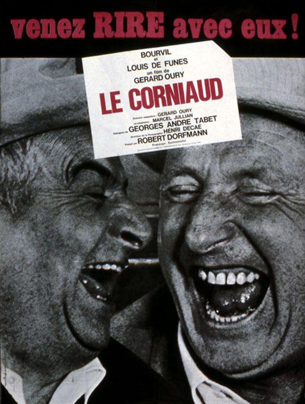 Découvrez cette affiche du film Le Corniaud réalisé par Gérard Oury. Affiche 1 du film Le Corniaud sur 2 affiches disponibles sur AlloCiné