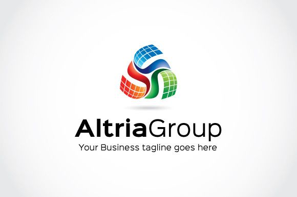 Altria Group Logo Template by mudassir101 on Creative Market