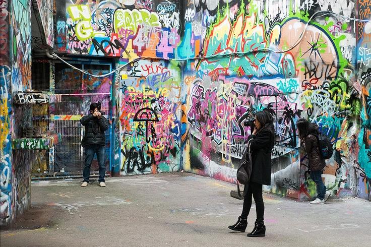 Urban London South Bank Cameras - Steve Middlehurst
