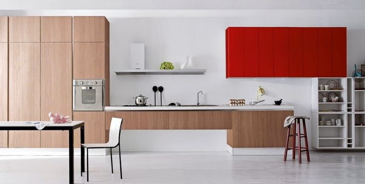 50 ideas de cómo combinar los colores en la cocina  - Cocinas con estilo