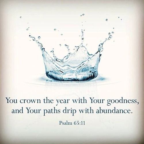 Christ has crowned this New Year with His goodness!