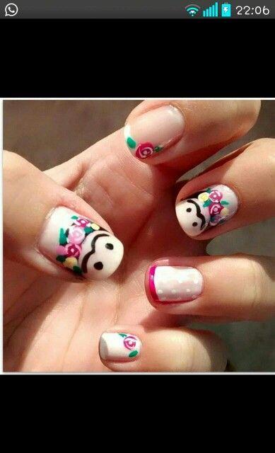 Nails Frida kahlo