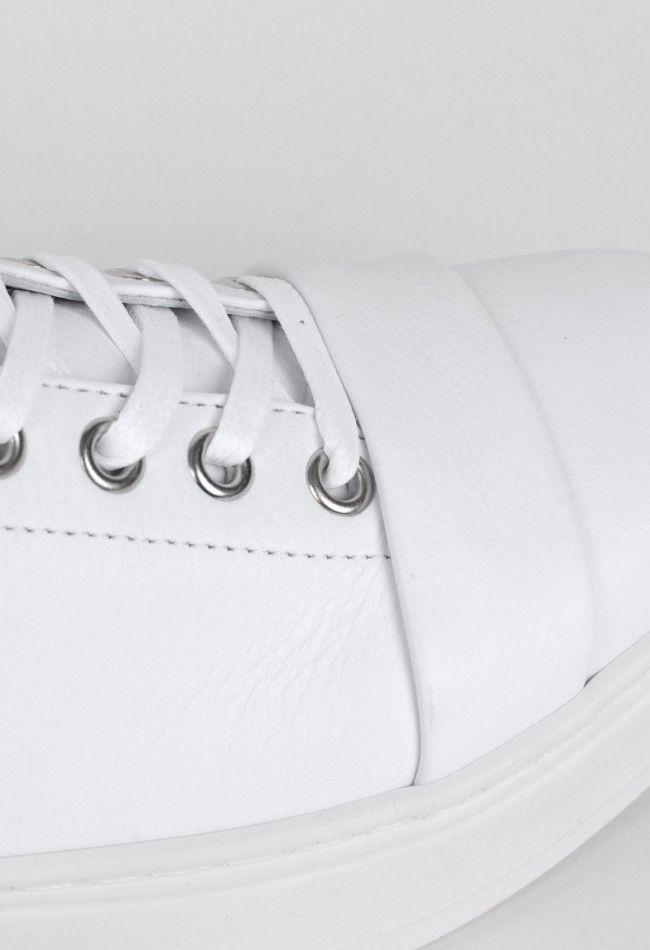 Achilles Ion Gabriel Lace Up Sneaker White – Voo Store