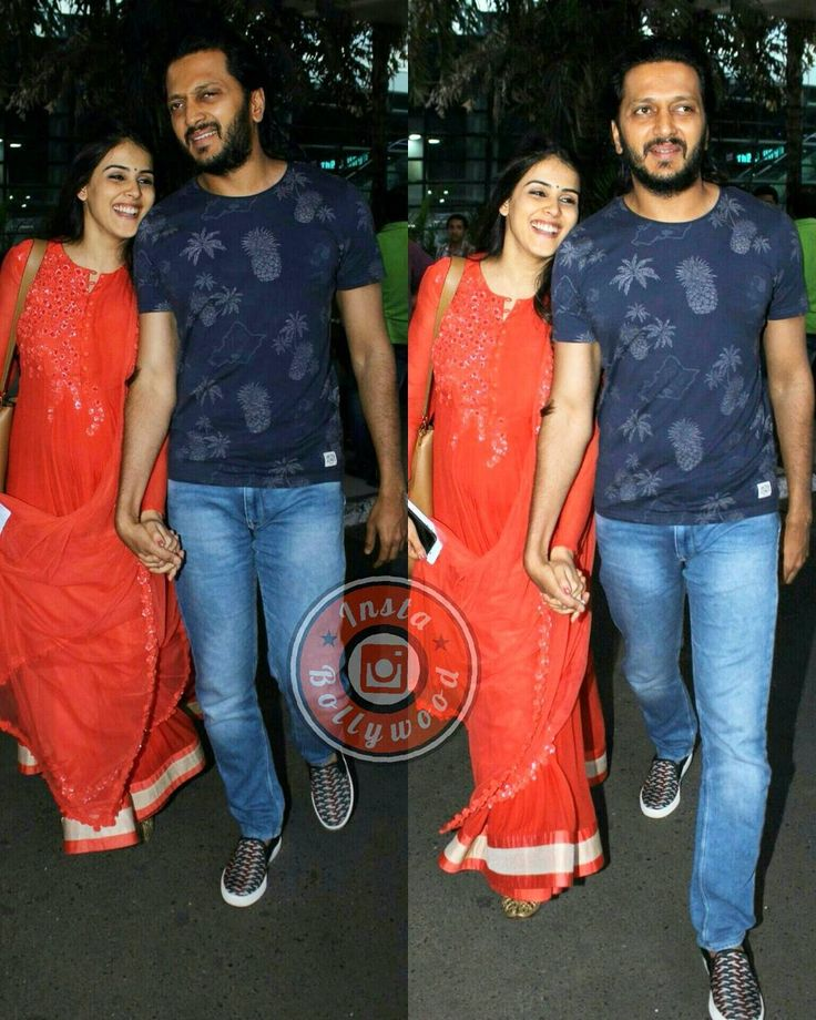 The lovely pair Ritesh Deshmukh and Genelia D'Souza spotted hand in hand at the airport yesterday. @INSTABOLLYWOOD    . . #instabollywood #bollywood #india #indian #desi #bollywoodactress #mumbai #bollywoodfashion #bollywoodstyle #bollywoodmovie #indianfashion #indianstyle #delhi #noida #gurgaon #chandigarh #hyderabad #surat #pune #bangalore #tagforlikes #likesforlikes #riteshdeshmukh #geneliadsouza #ibfb #ibairport by instabollywood
