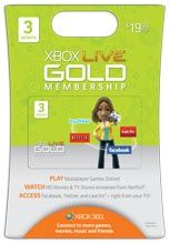 Buy Cheap Xbox 360 Live 3 Month Gold Card Subscription - Cheapest XBOX Live Membership