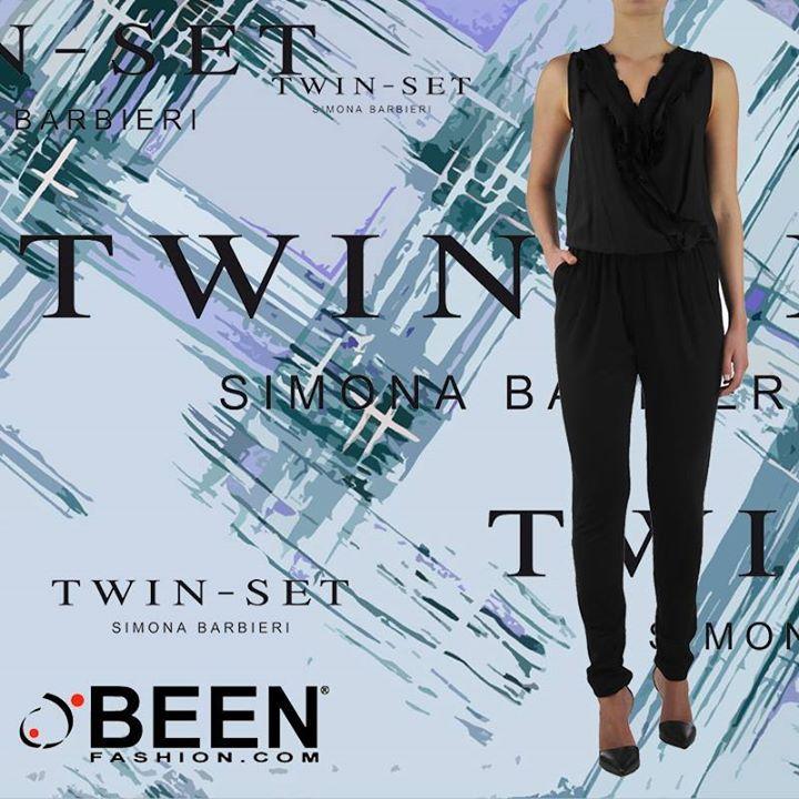 #Twinset #Simonabarbieri per un look glamour e al top! http://www.beenfashion.com/it/donna/abiti/twin-set-tuta-intera.html?utm_source=pinterest.com&utm_medium=post&utm_content=vdp-abito-floreale-slim&utm_campaign=post-prodotto