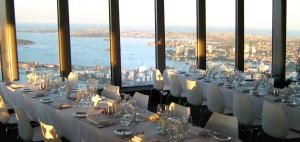 Sky Venue - Sydney Function Venue -  Located 305 metres above the Sydney CBD, Sky Venue is the highest event space in the Southern Hemisphere. It's flexible design makes it the perfect backdrop for almost any event, with its spectacular views making it a memorable occasion for all guests. http://bit.ly/T2xwEo