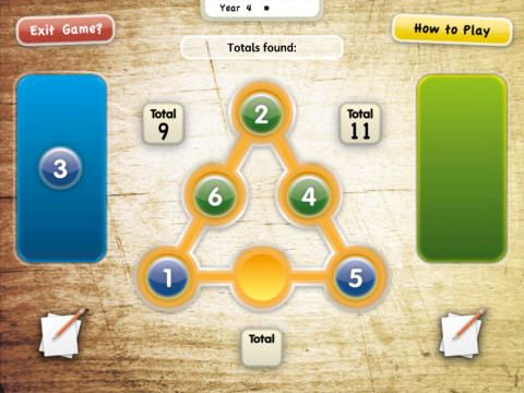 Talk Maths. Currently there are 3 apps available for yrs 4, 5 and 6. Designed for 2 children to work on one iPad at one time, working together to solve maths problems.