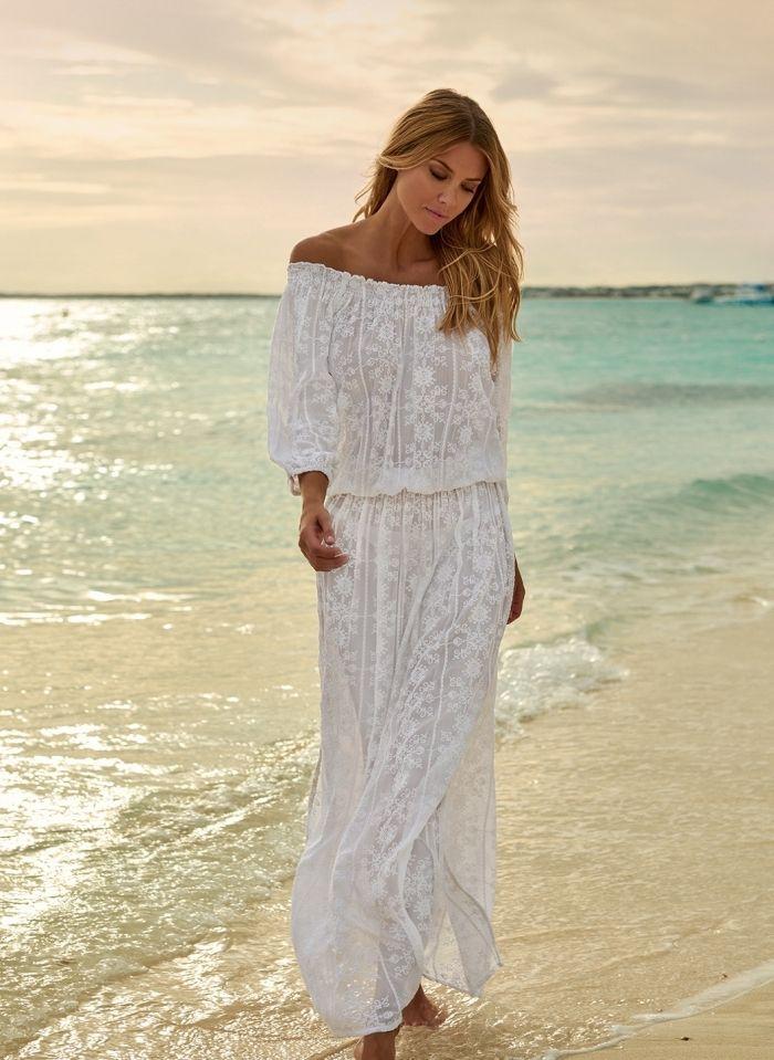 1001 Modeles Inspirants De La Robe De Plage Longue Fashion Dresses Cover Up