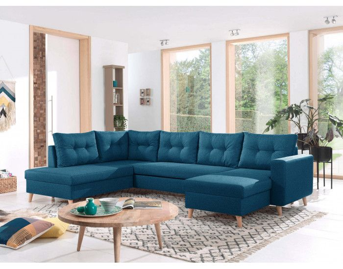 Nordic Canape Scandinave D Angle Gauche Panoramique Convertible