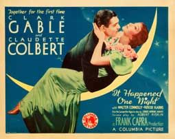 It Happened One Night Title Lobby Card