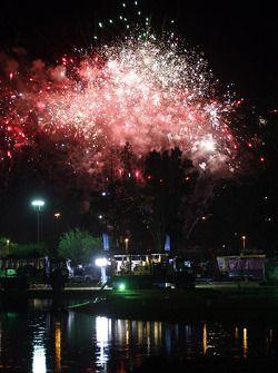 Fogos de Artifício na Bivouac