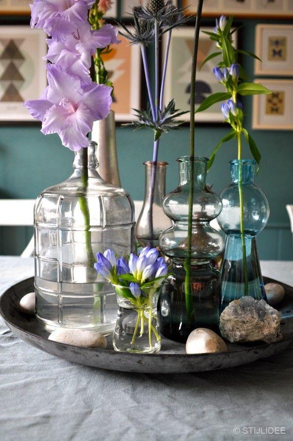 Haal de zomer in huis met styling van zomerbloemen(2) | STIJLIDEE Styling via www.stijlidee.nl